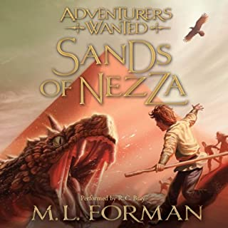 Sands of Nezza audiobook cover art