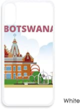 City Building Botswana for iPhone X Cases White Phonecase Apple Cover Case Gift