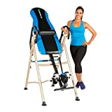 Exerpeutic Unisex 175SL Inversion Table with 'Surelock' Safety Ankle Ratchet System and Lumbar
