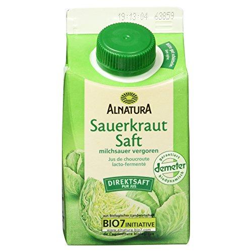 Alnatura Bio Sauerkrautsaft milchsauer vergoren (1 x 500 ml)