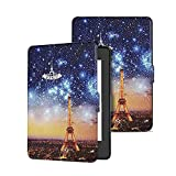 ProElite Slim Smart Flip case Cover for All New Amazon Kindle 10th Generation 2019 [Eiffel] (Not Fit Paperwhite)
