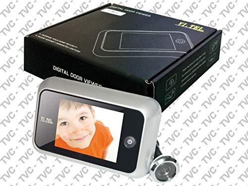 Vi.Tel. E0358 30 Spioncino Digitale, Bronzo