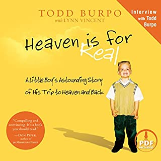 Heaven Is for Real audiobook cover art