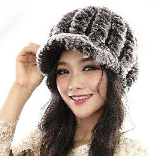 Tefamore Sombrero de las Mujeres Invierno de Caliente Gorro de Suave d