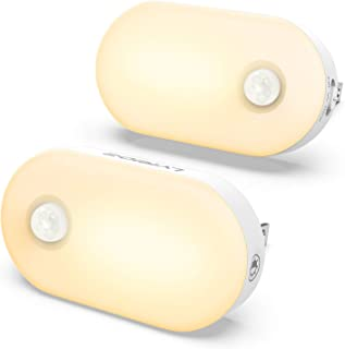 Aipower RONA Rechargeable Night Light Orientation Light with Motion Sensor Warm White Brightness /& Mode Adjustable Energy efficient