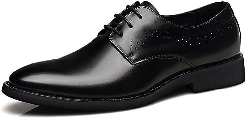 YXIAOL Sommer Coole Schuhe Männer Ledersandalen Atmungsaktive Sommer Business-Kleid Herrenschuhe Casual Hohl