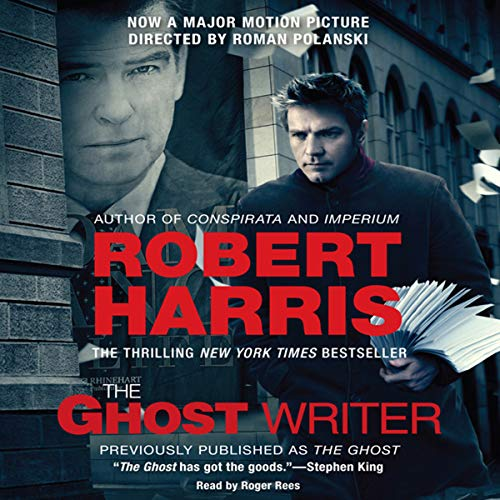 The Ghost Writer audiobook cover art