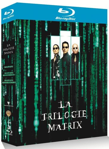 Coffret Matrix La trilogie 3 Blu-Ray : Matrix + Matrix Reloaded + Matrix Revolutions [Blu-ray] [FR IMPORT]