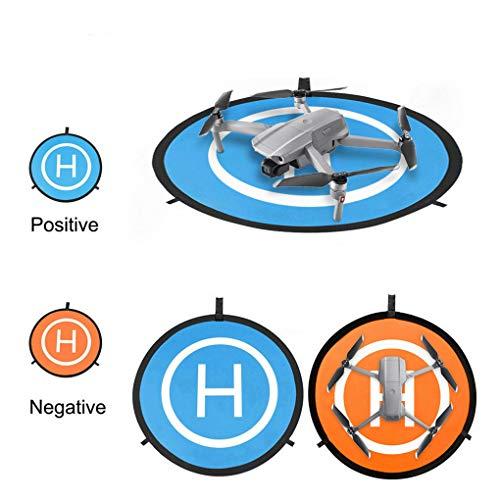 DJFEI Landing Pad für DJI Mavic Air 2 Drone, Universal Waterproof 55cm Foldable Drone Leuchtende Funktion Landing Pad Landeplatz für DJI Mavic Air 2 / DJI Mavic 2 Pro/DJI Mavic 2 Zoom