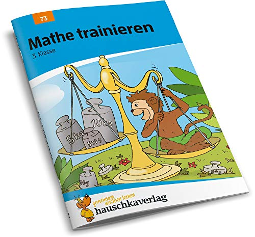 Mathe trainieren 3. Klasse, A5- Heft