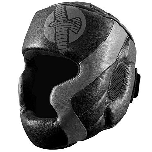 Hayabusa Tokushu Regenesis MMA Head Gear, Black/Grey, One Size