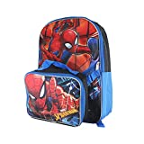 16' Kids' The Amazing Spider-Man Backpack with Removable Lunch Bag