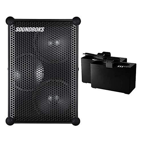 Die neuen Soundboks – der lauteste tragbare Bluetooth-Lautsprecher mit 2 x Batterien.