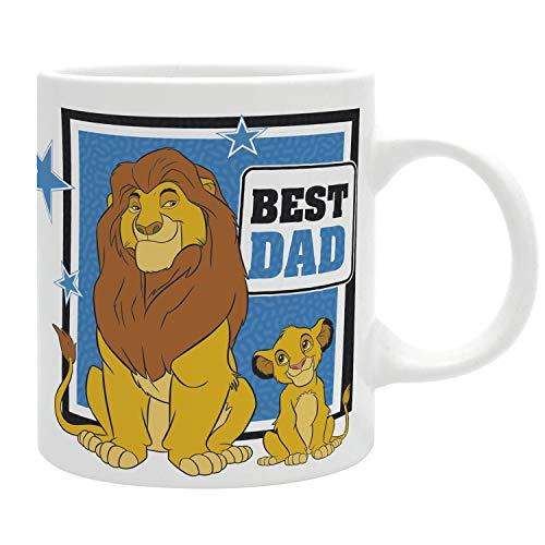The Goodgift – Disney – Tasse – 320 ml – Der König der Löwen Best Dad