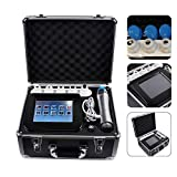 ED Shockwave Treatment, Enshey 7 Transmitters Shockwave Therapy Machine Erectile Dysfunction Therapy System Acoustic Shockwave Machine for Pain Relief, Anti-Cellulite