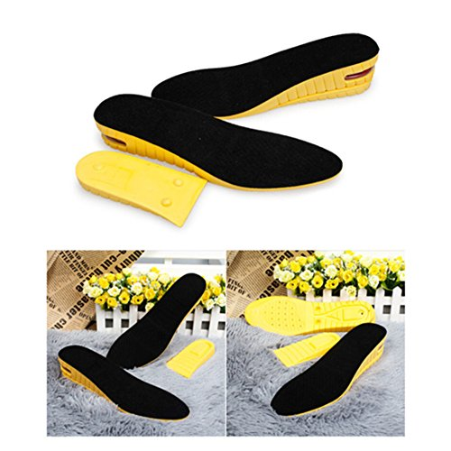 Kalevel 2 Layer Height Increase Insole Increasing Inserts Shoe Height Lift Taller Insoles Heel...