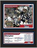 New England Patriots 12' x 15' Sublimated Plaque - Super Bowl XXXVIII - NFL Team Plaques and Collages