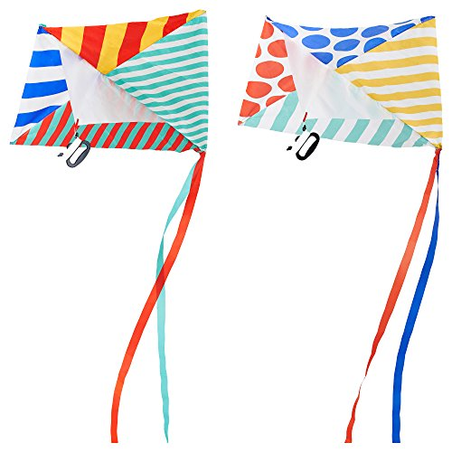 IKEA LATTJO 20302271 カイト マルチカラー 長さ 120 cm 幅 94 cm 2 ピース