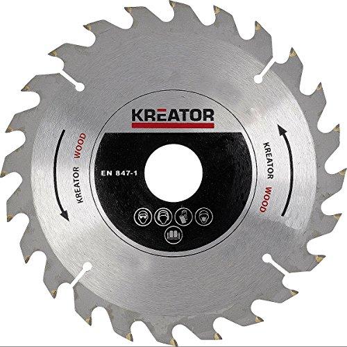 Lame a bois de scie circulaire 185x30x2.4mm KREATOR-krt021050