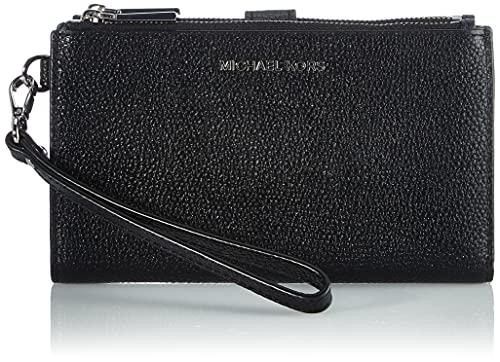 Michael Kors dam 34F9GJ6F2L tillbehör-reseplånbok, svart, en storlek