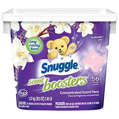 Snuggle Laundry Scent Boosters Concentrated Scent Pacs, Lavender Joy,...