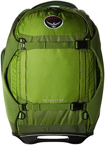 Osprey Packs Sojourn Wheeled Luggage, Nitro Green, 45 L/22'