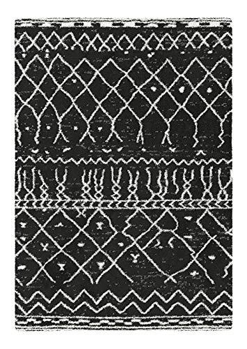 Decoweb Tapis Motif Berbère Dharan (Foncé, 80 x 150 cm)