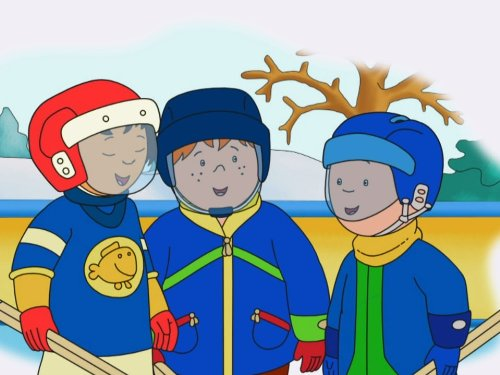 Caillou Cares & other Stories: Caillou Gets Active
