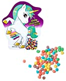 Baby Unicorn Poop Candy Mini Fruit Chews, Bulk 24 Pack Unicorn Party Favors Candy Bags, Party Candy, Rainbow Candy, Unicorn Candy, Party Favor Snacks, Unicorn goodies By Cartwheel Confections