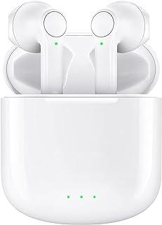 Trådlösa öronsnäckor, trådlösa hörlurar touch-kontroll i örat trådlösa hörlurar med Hi-Fi stereoljud, brusreducering, vatt...