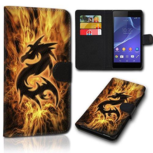 sw-mobile-shop Book Style Wiko Sunny 2 Plus Tasche Flip Brieftasche Handy Hülle Kartenfächer für Wiko Sunny 2 Plus - Design Flip SVH1192