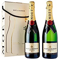 moet e chandon champagne reserve imperiale twin set 2 bottiglie confezione regalo 75 cl