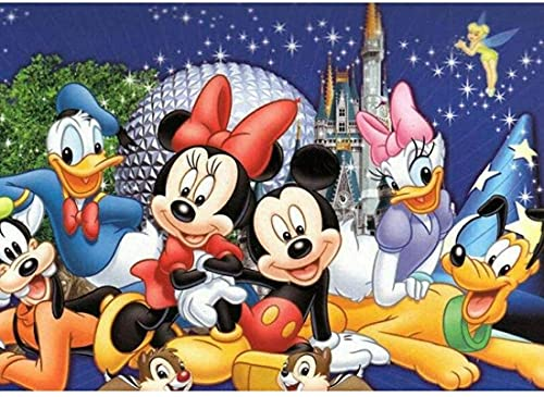Cuadros Diamantes 5D Disney Mickey cuadros diamantes 5d  Marca CYSJ