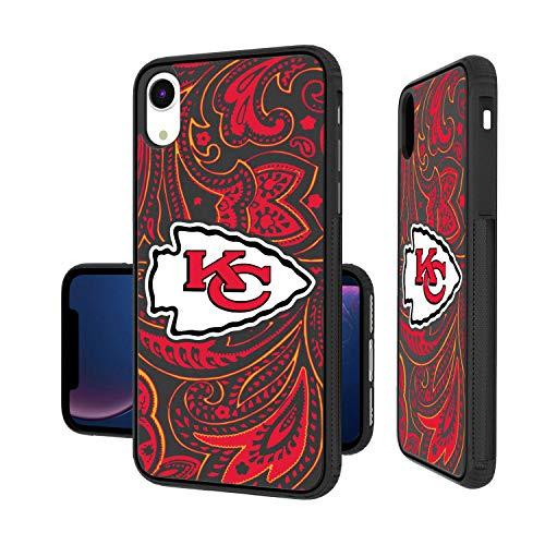 Strategic Printing Kansas City Chiefs iPhone Paisley Design Bump Case