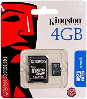 Kingston 4GB Micro-SD Memory Card (with SD Adapter) Kit for Palm Treo 500, Treo Pro, and Centro