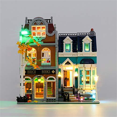 Lego(Creator Libreria) Kit De IluminacióN Led, Compatible Con El Modelo De Bloques De ConstruccióN Lego 10270(No Incluido En El Modelo)