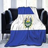 485 Flagge Von EL Salvador Couchdecke Personalisiert Sofadecke Leichte Flauschige Decke Kuschelige Weich Werfen Decke Hautfre&lich Flausch Fleecedecke L
