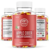 Rewind With Nature Apple Cider Vinegar Gummies, Pack 100% Pure Raw Organic Unfiltered ACV Gummies Detox, Cleanse with The Mother ACV Gummy, No Harsh Taste Like Liquid, Capsule, Pills ACV