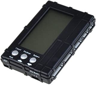 powerday RC 3 in 1 Battery Balancer 2s-6s Lipo Li-Fe LCD+Voltage Meter Tester+Discharger