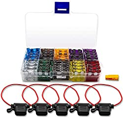 wire in-line for car automotive blade fuse holder fuseholder kit for vehica Ws