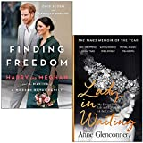 Finding Freedom Harry and Meghan By Omid Scobie, Carolyn Durand & Lady in Waiting By Anne Glenconner 2 Books Collection Set