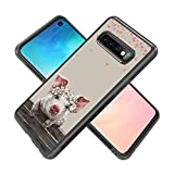 Case for Samsung Galaxy S10 case Terrific Pig Slim Soft TPU and Hard Tire Shockproof Protective Phone Cover Case Slim Hybrid Shockproof Protective Phone Case Compatible with Samsung Galaxy S10