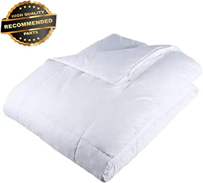 Gatton Premium New Full/Queen Comforter, White Goose Down Altertive Comforter, | Style