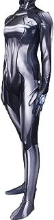Leaffly Women's Zero Aran Cosplay Bodysuit Zentai Costume Black