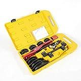 Curvadora manual de tubos de 6-22 mm, 1/4', 5/16', 3/8', 1/2', 5/8', 3/4', 7/8', con caja.