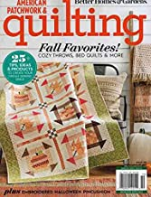 American Patchwork & Quilting Magazine October 2019