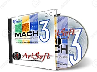 ArtSoft Fully Licensed Mach3 CNC Control Software, Authorized Dealer
