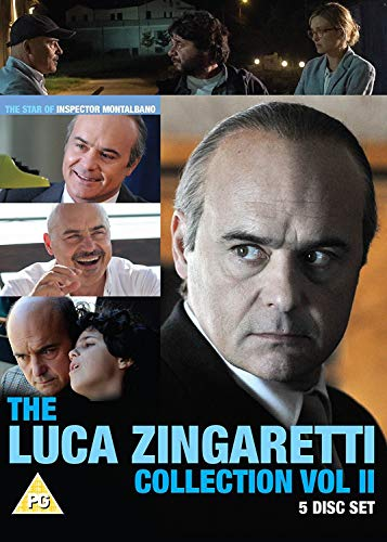 Luca Zingaretti Box II: (Partly Cloudy with Sunny Spells, Kryponite, Adriano Olivetti, The Scandal) [DVD] [UK Import]