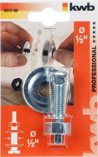 KWB handgreep voor polijstmachines, roestvrij staal, 49501200