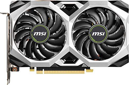 MSI Gaming GeForce GTX 1660 Super 192-bit HDMI/DP 6GB GDRR6 HDCP Support DirectX 12 Dual Fan VR Ready OC Graphics Card (GTX 1660 Super Ventus XS OC)